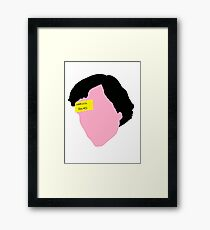 Sherlock Holmes, The Sign Of Three Framed Print