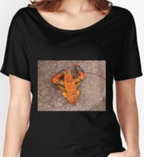 Orange Lobster Women's Relaxed Fit T-Shirt
