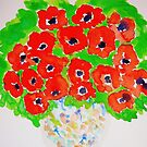 Bright Poppies  by Charisse Colbert