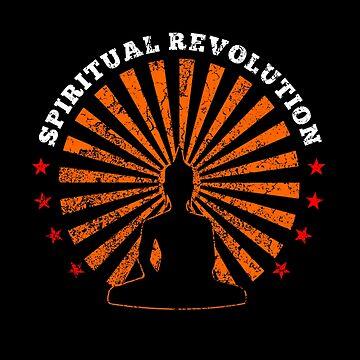 Spiritual Revolution by Delta12Designs