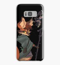 fox witch Samsung Galaxy Case/Skin