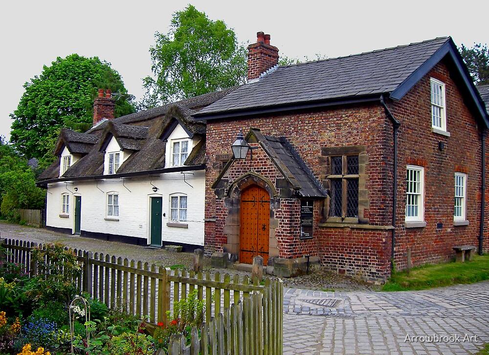 Styal Village Church, Cheshire, UK by John Brotheridge