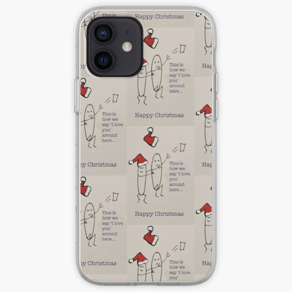 This is how we say I love you around here... iPhone Soft Case