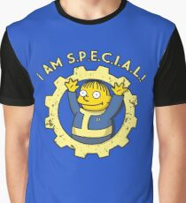 Fallout vault boy parody ft ralph Graphic T-Shirt