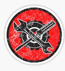Mechaniker-Logo Sticker