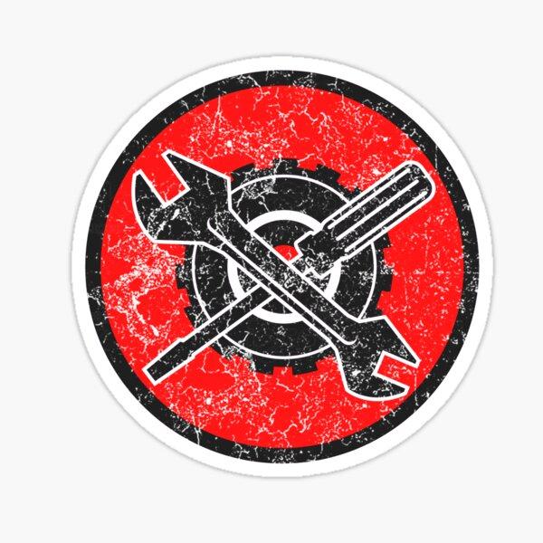 Mechaniker Logo Sticker