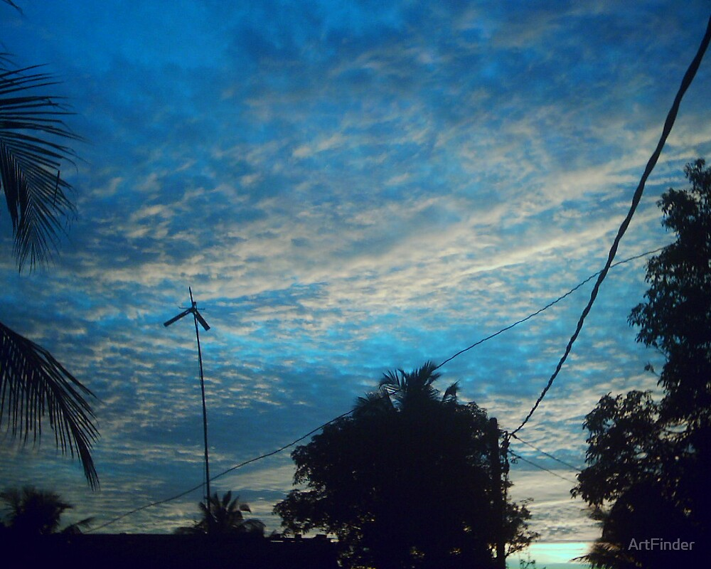 Evening Sky by ArtFinder