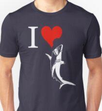 i love shark Unisex T-Shirt