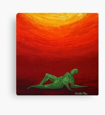 Dive In Canvas Print