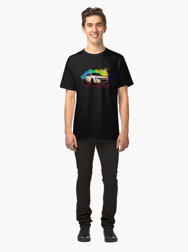 Alternate view of Exhood Tuning Car at Night 3 Classic T-Shirt