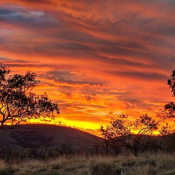 Pilbara Sunset - Karijini by warriorprincess