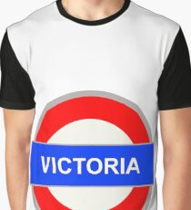 Victoria Sign Graphic T-Shirt