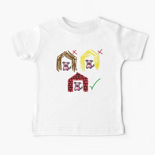 Three Little Pigs Baby T-Shirt