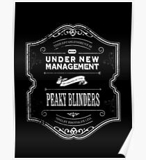 Peaky Blinders , Under New Management Poster