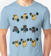 pug gym Unisex T-Shirt