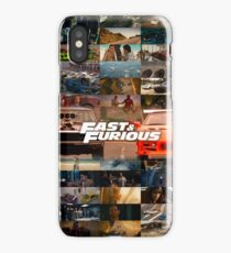Fast & Furious History iPhone Case/Skin