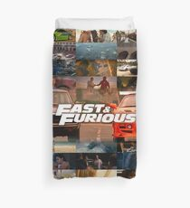 Fast & Furious History Duvet Cover