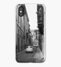Cinquecento Fiat 500 Verona BW iPhone Case/Skin