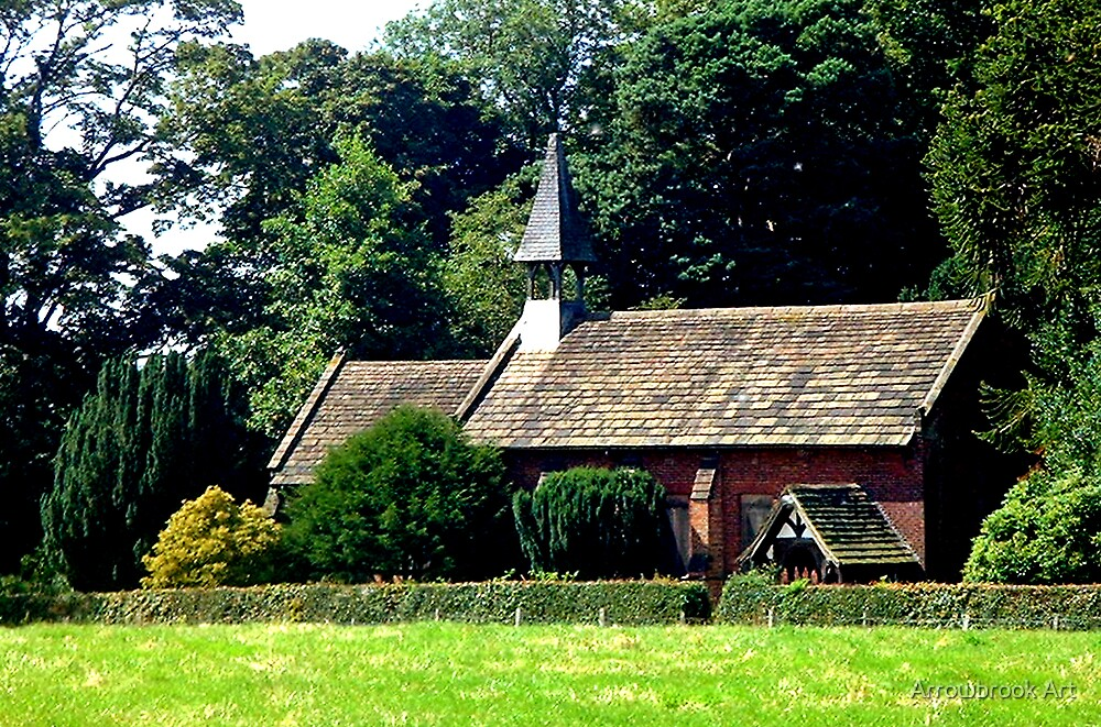 Norcliffe Chapel, Styal Village, Cheshire by John Brotheridge