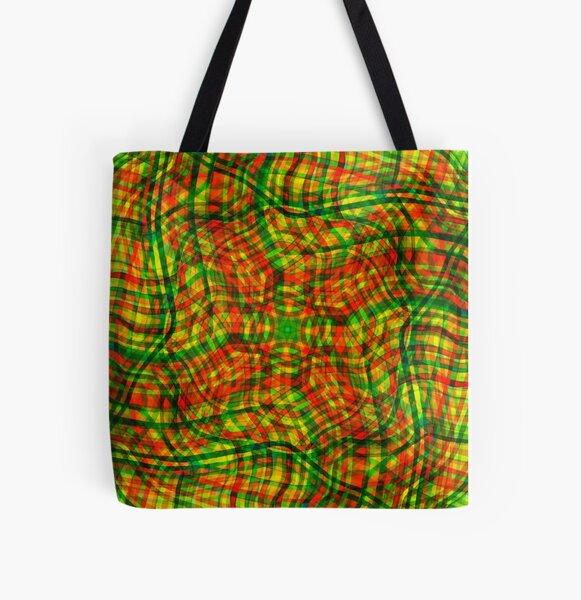 color swirl All Over Print Tote Bag