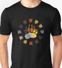 ROBUST BEAR PRIDE PAW Unisex T-Shirt