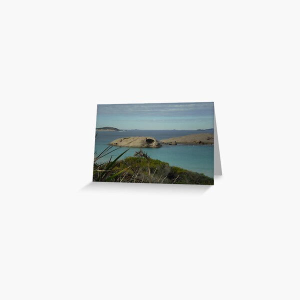 One Cave, One View Greeting Card
