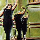 dancers by lazart