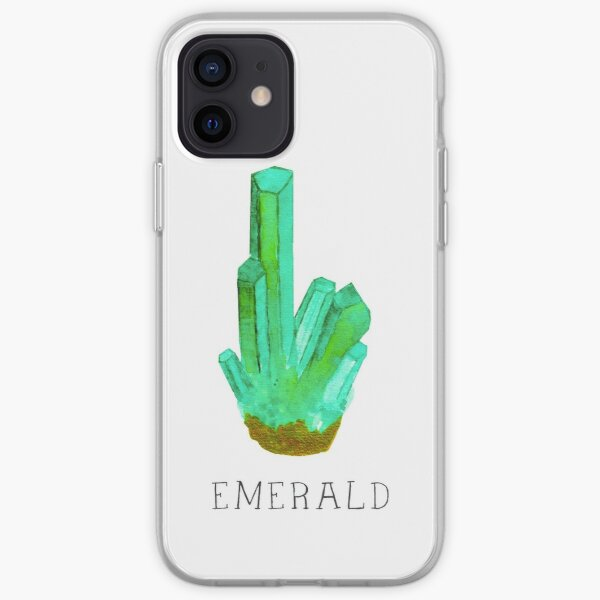 Green with Envy, Emerald iPhone Soft Case