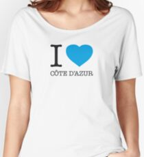 I ♥ COTE D'AZUR Women's Relaxed Fit T-Shirt