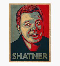 SHATNER Photographic Print
