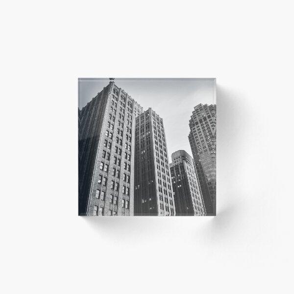 Skyscraper Acrylic Block