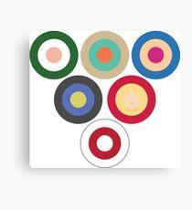 Family Guy Circles Canvas Print