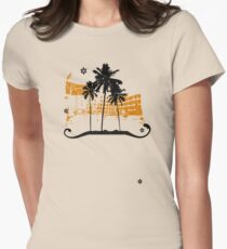 Summer holiday Women's Fitted T-Shirt