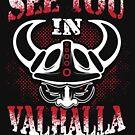 «Viking Valhalla Odin Thor Presente de diseño» de g3nzoshirts