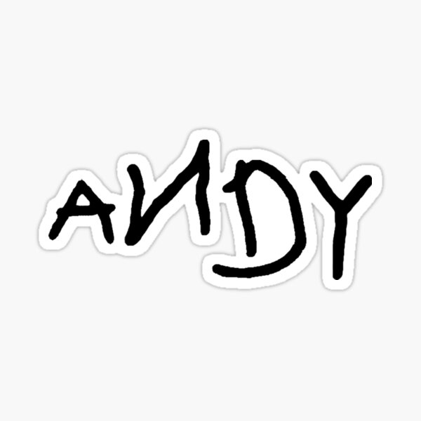 ANDY Sticker