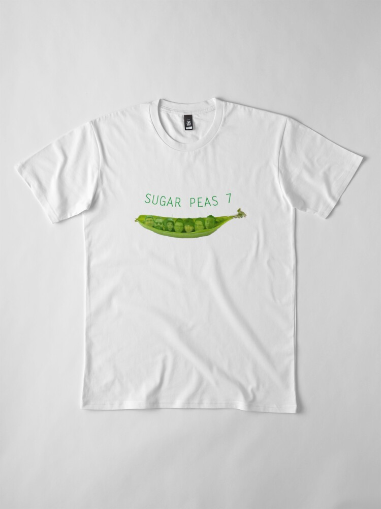 Alternate view of SUGAR PEAS 7 Premium T-Shirt