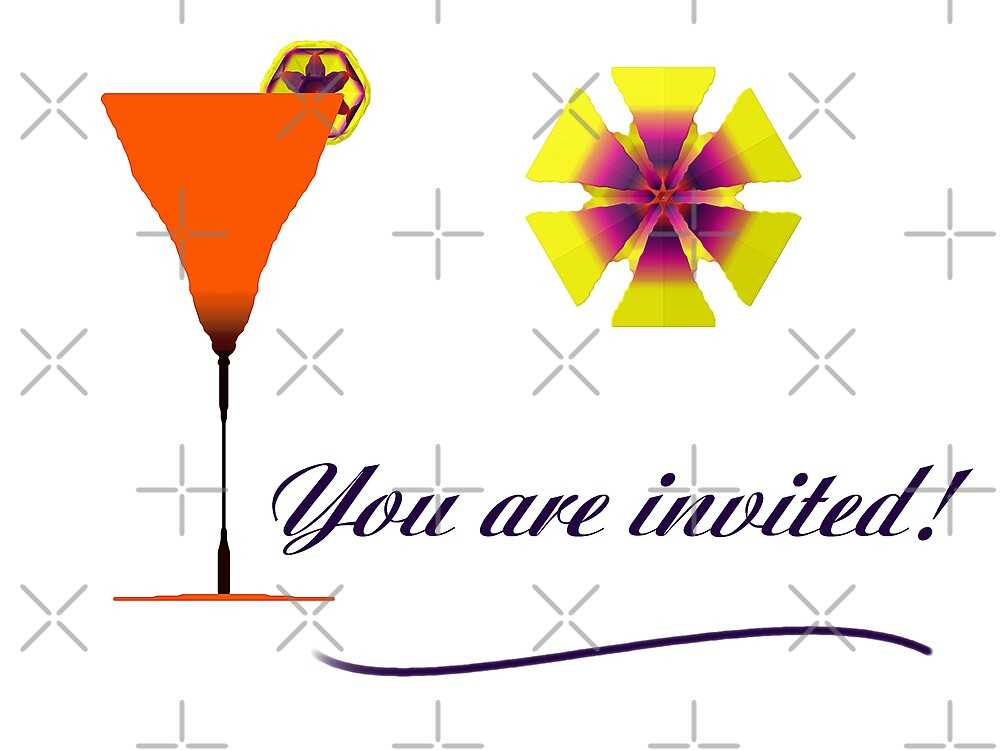 You Are Invited by Sandra Chung