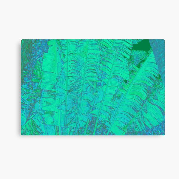 Feathered leaves Canvas Print
