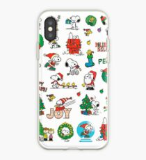 snoopy christmas set iPhone Case