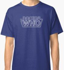 Doctor Who Classic Logo 2 Classic T-Shirt