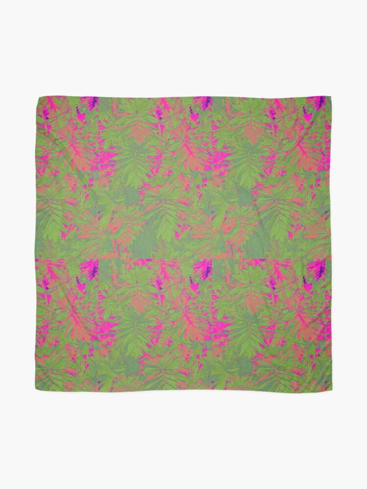 Alternate view of Hot Pink Nature Scarf