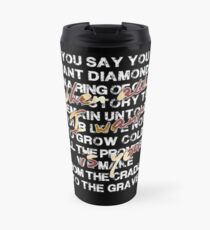 u2 all I want is you Travel Mug
