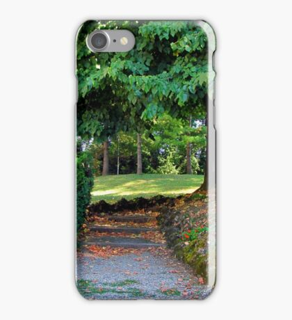 Nature path iPhone Case/Skin