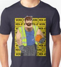 ADAM LIKES WORK - MEN AT WORK T-Shirt