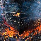 Burning ship 1 by Zvonko Jerkovic