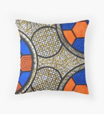 Africa fabric Throw Pillow