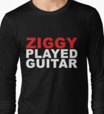 ZIGGY PLAYED GUITAR #red T-Shirt
