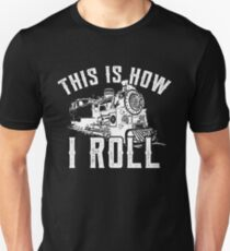 Men's Train T Shirt This Is How I Roll Enthusiast Tee Unisex T-Shirt
