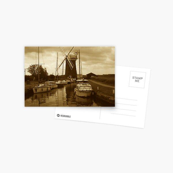 Horsey Windpump, Norfolk Postcard