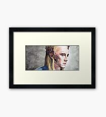 Tolkien: King of the Woodland realm Framed Print